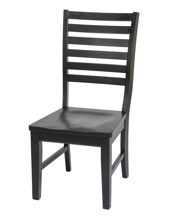 Chelsea Home Elwyn Side Chair - Black