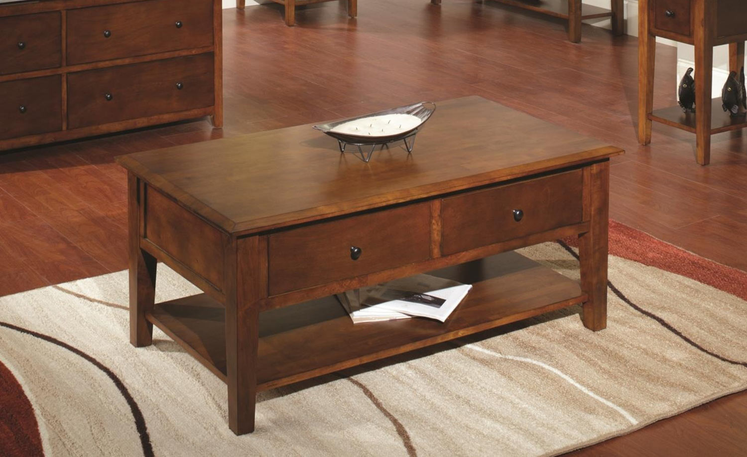 Chelsea Home Ayer Coffee Table - Tobacco