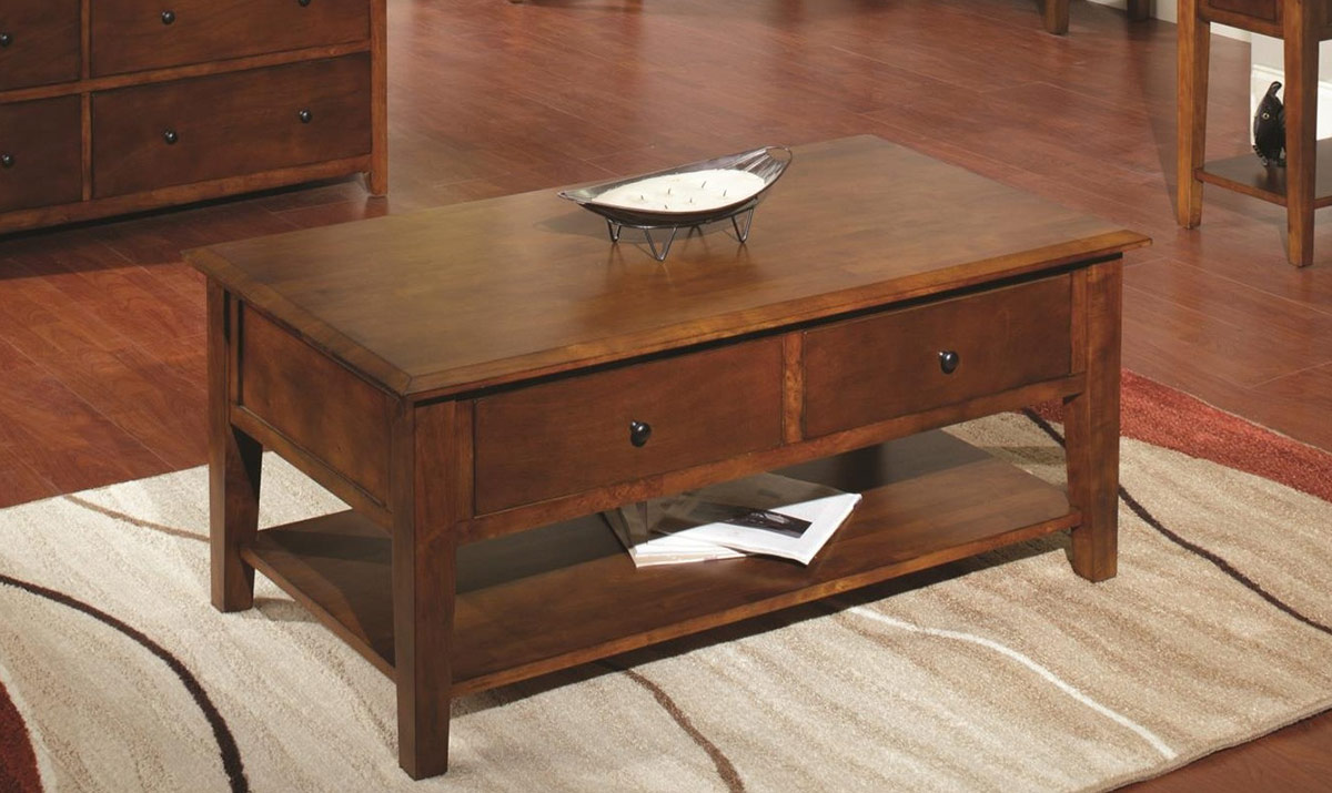 Chelsea Home Barnstable Table - Tobacco