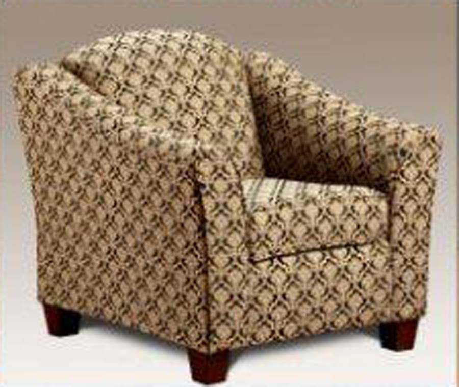 Chelsea Home Lilly Accent Chair - Astrid Ebony - Chelsea