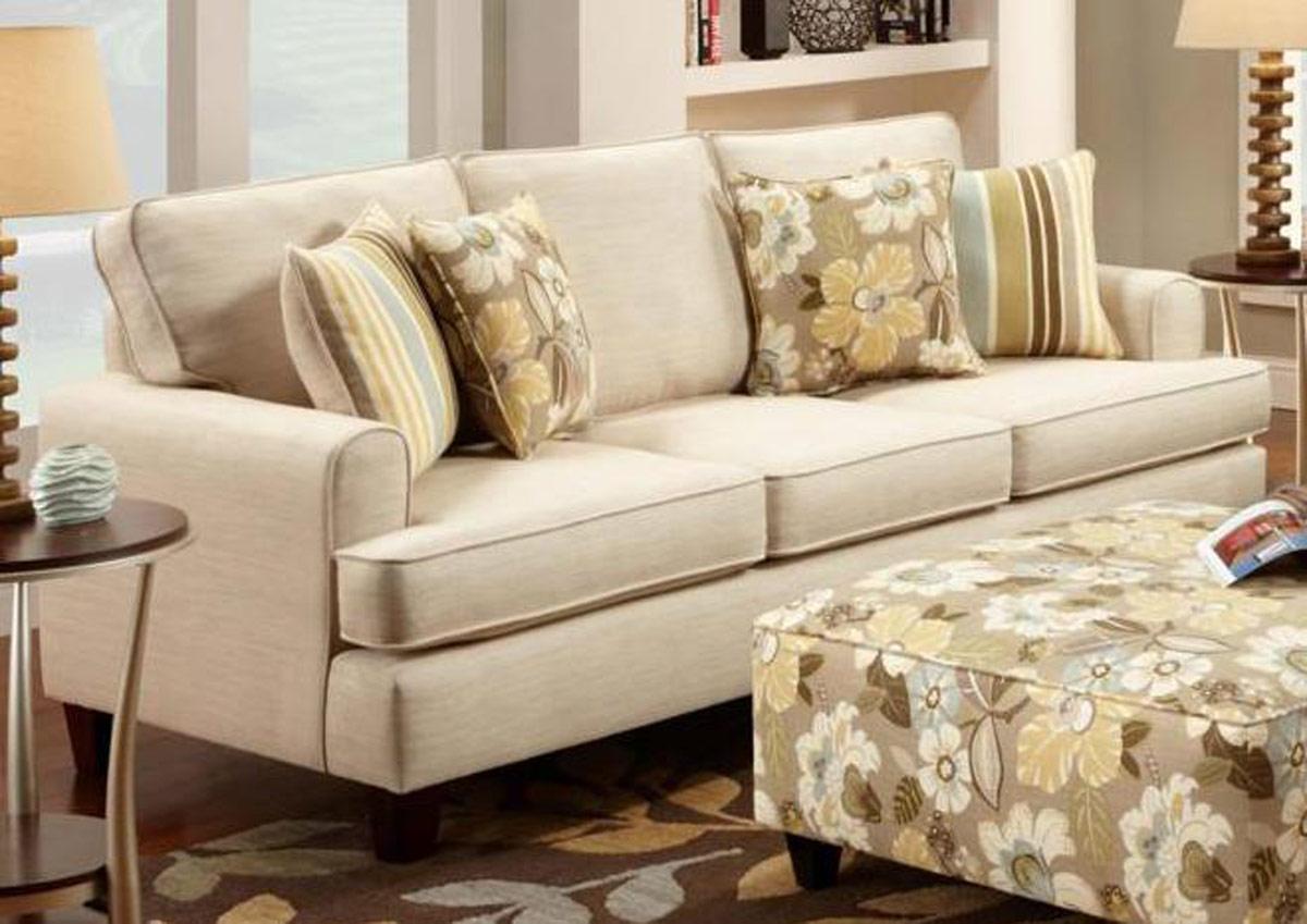 Chelsea Home Hudson Sofa Set Marloivory Fs2600 Sofa Set