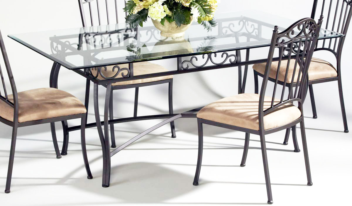Metal Dining Room Table Sets Metal Dining Chair Oak Street Metal