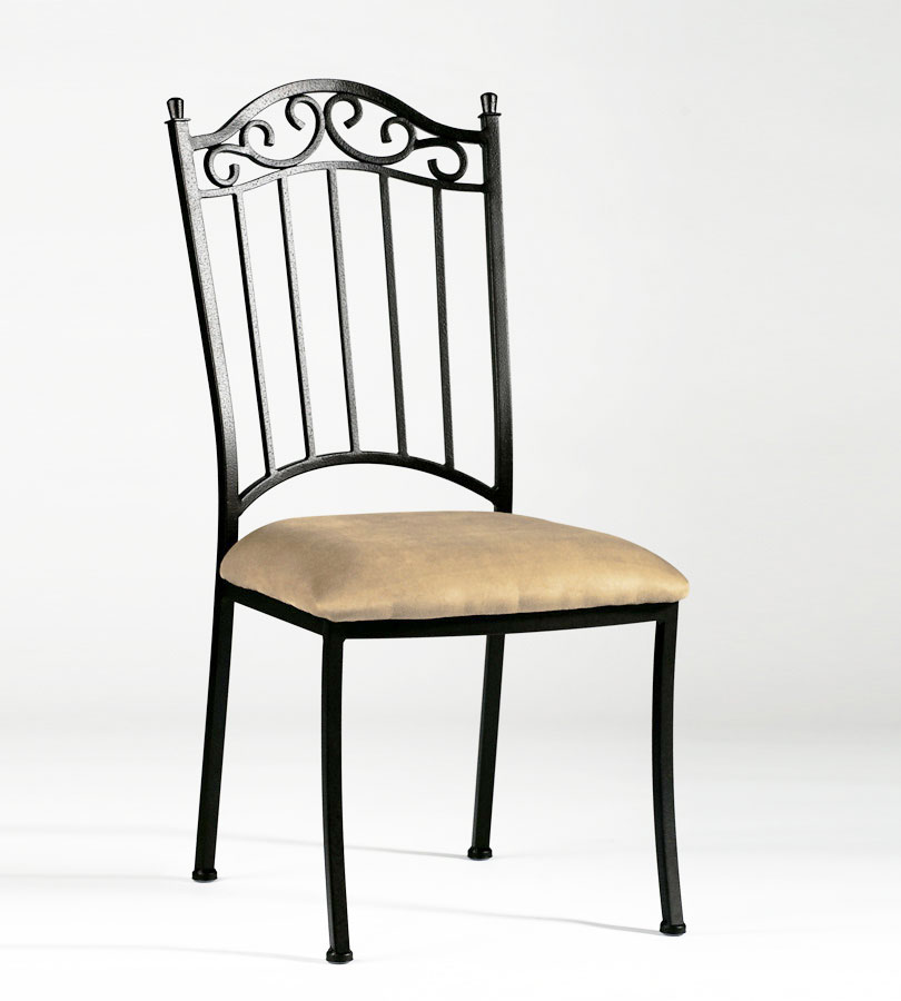 Chintaly Imports Wrought Iron Side Chair