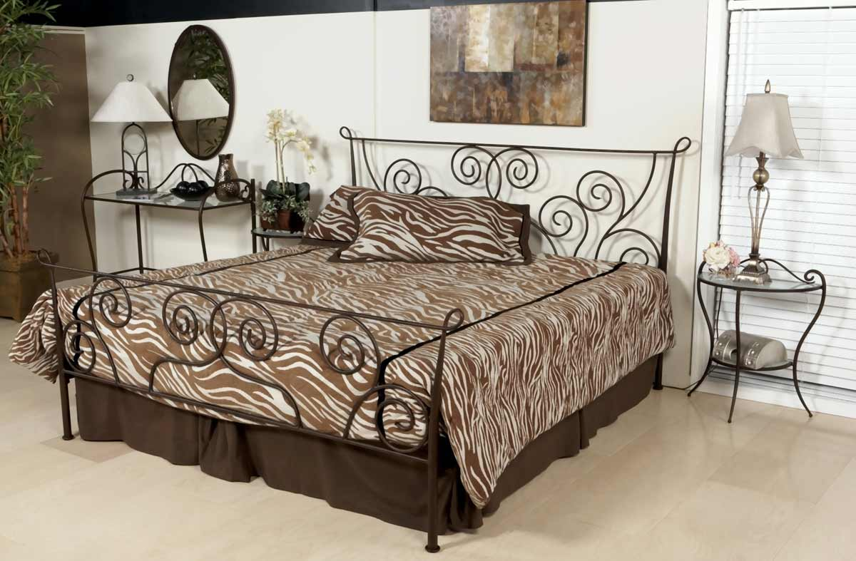 Chintaly Imports 511 Metal Bedroom Collection