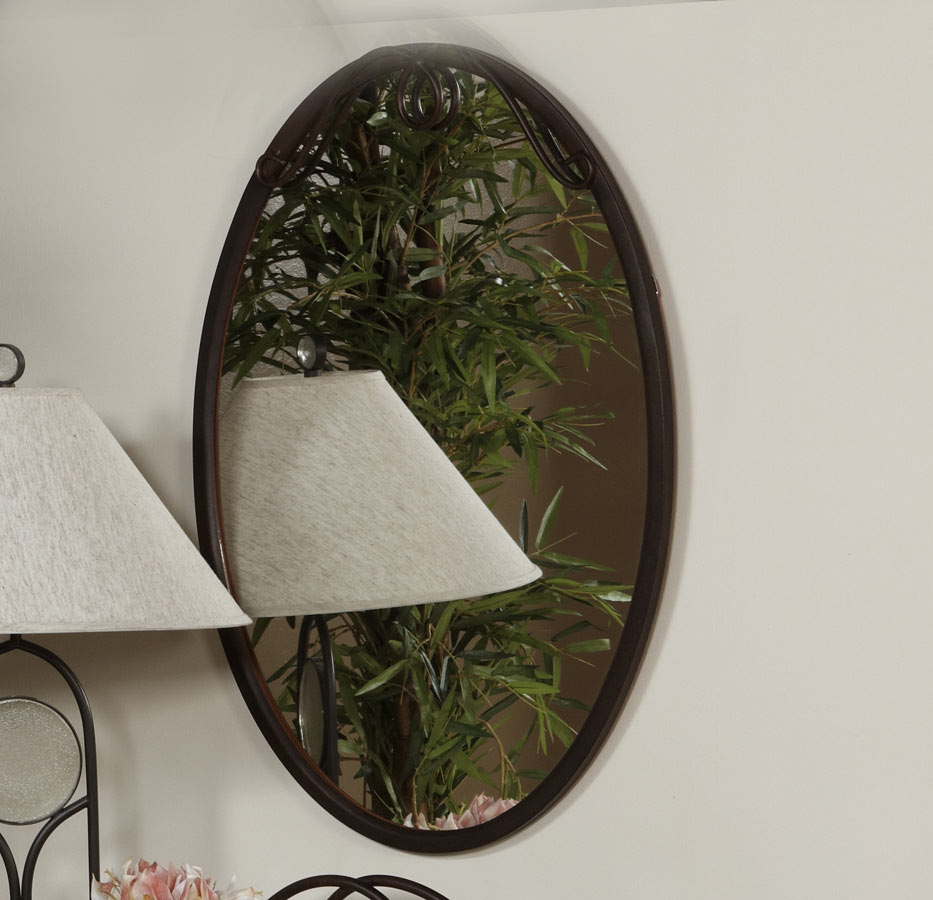 Chintaly Imports 511 Metal Frame Mirror