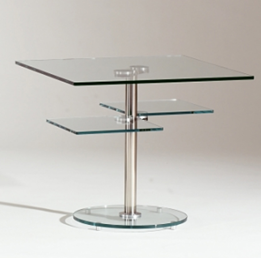 Chintaly Imports 8130 Square Lamp Table