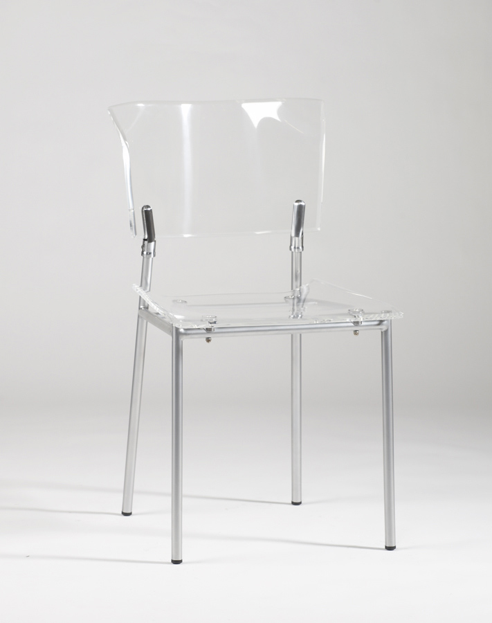chintaly imports acrylic side chair clear acrylic sc clr