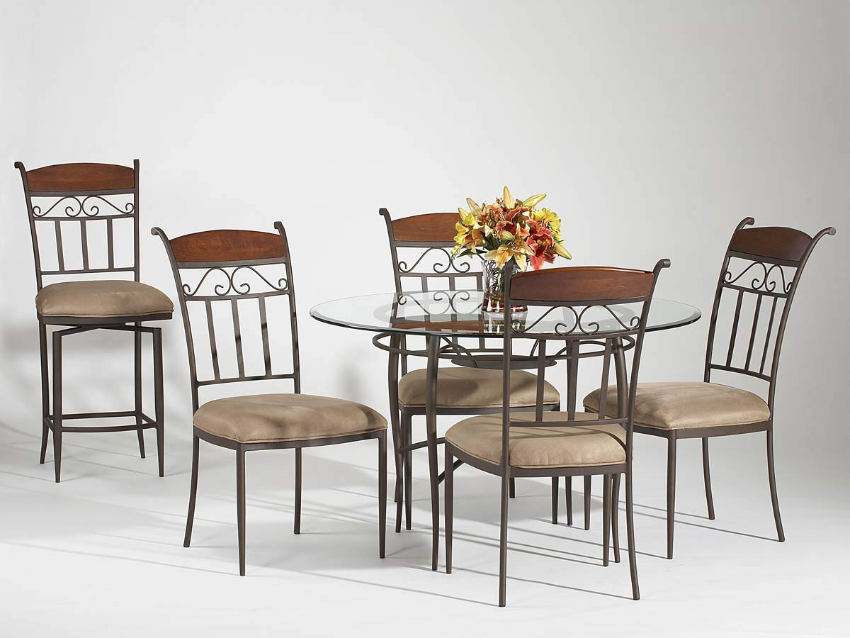 Chintaly Imports Amy Round Dining Collection