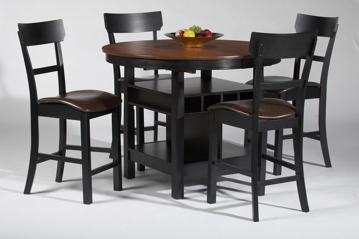Chintaly Imports Cleo Counter Counter Height Dining Set