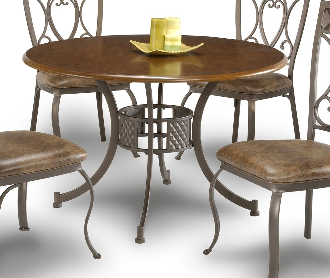 Chintaly Imports Dustin Dining Table with Wood Top
