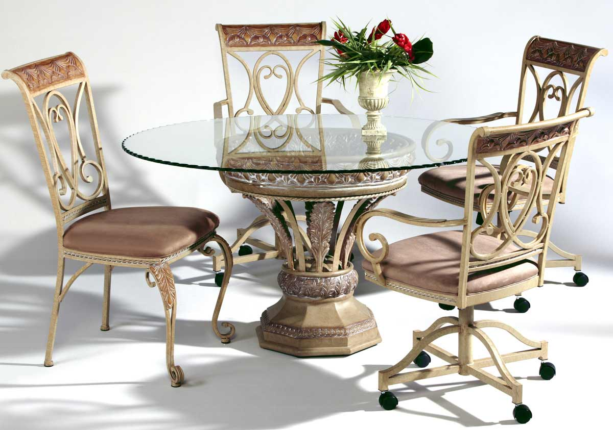 Chintaly Imports Eden Round Dining Collection with Side Chair