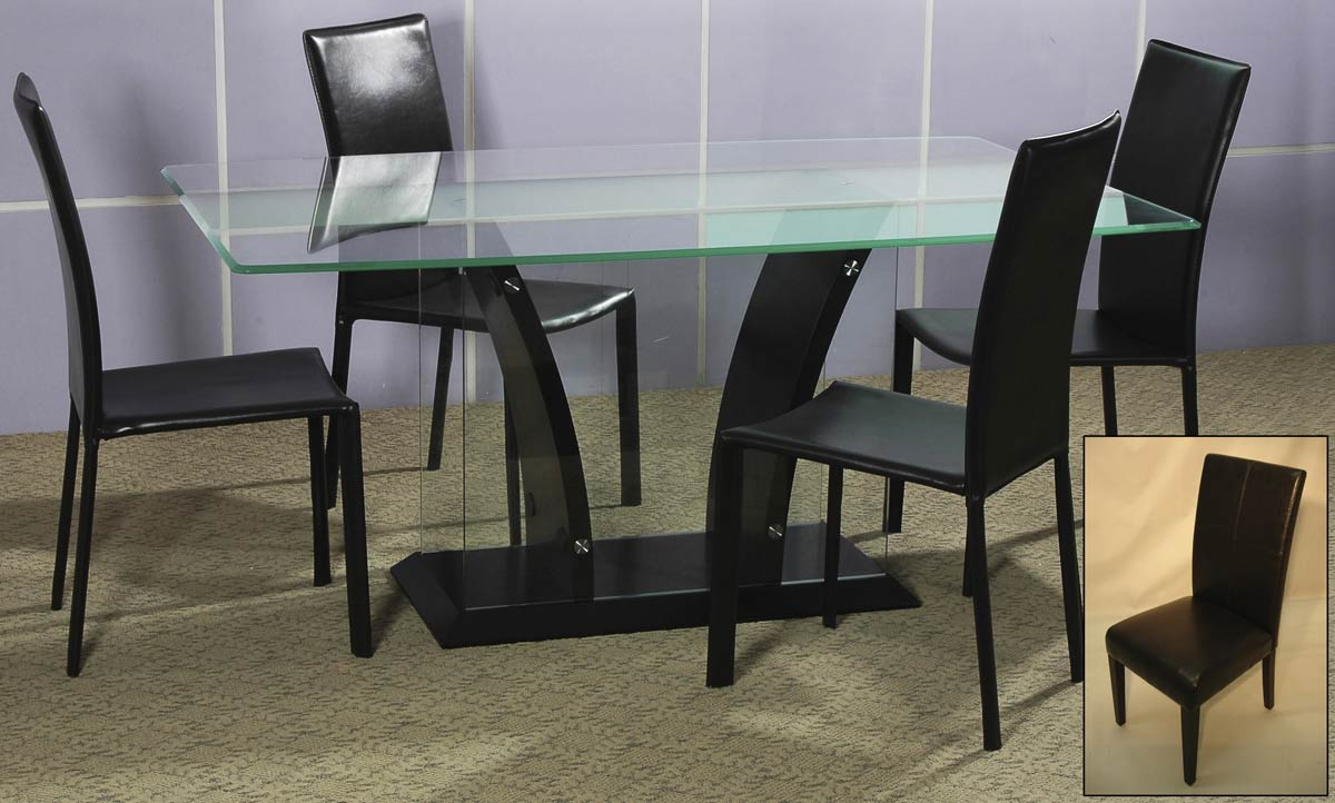 Learn more about Chintaly Imports FLAIR DT SET Flair Dining Collection Product Photo