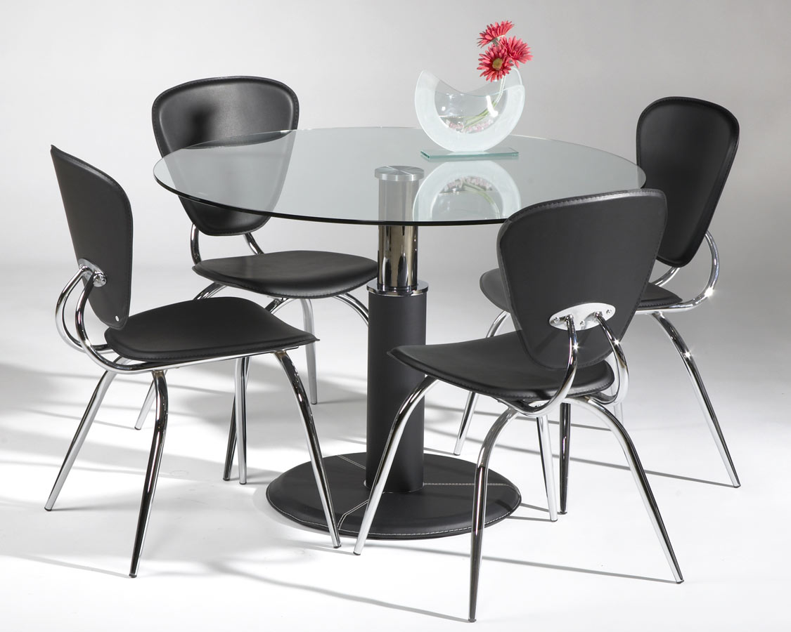 Chintaly Imports Gladys Round Dining Collection