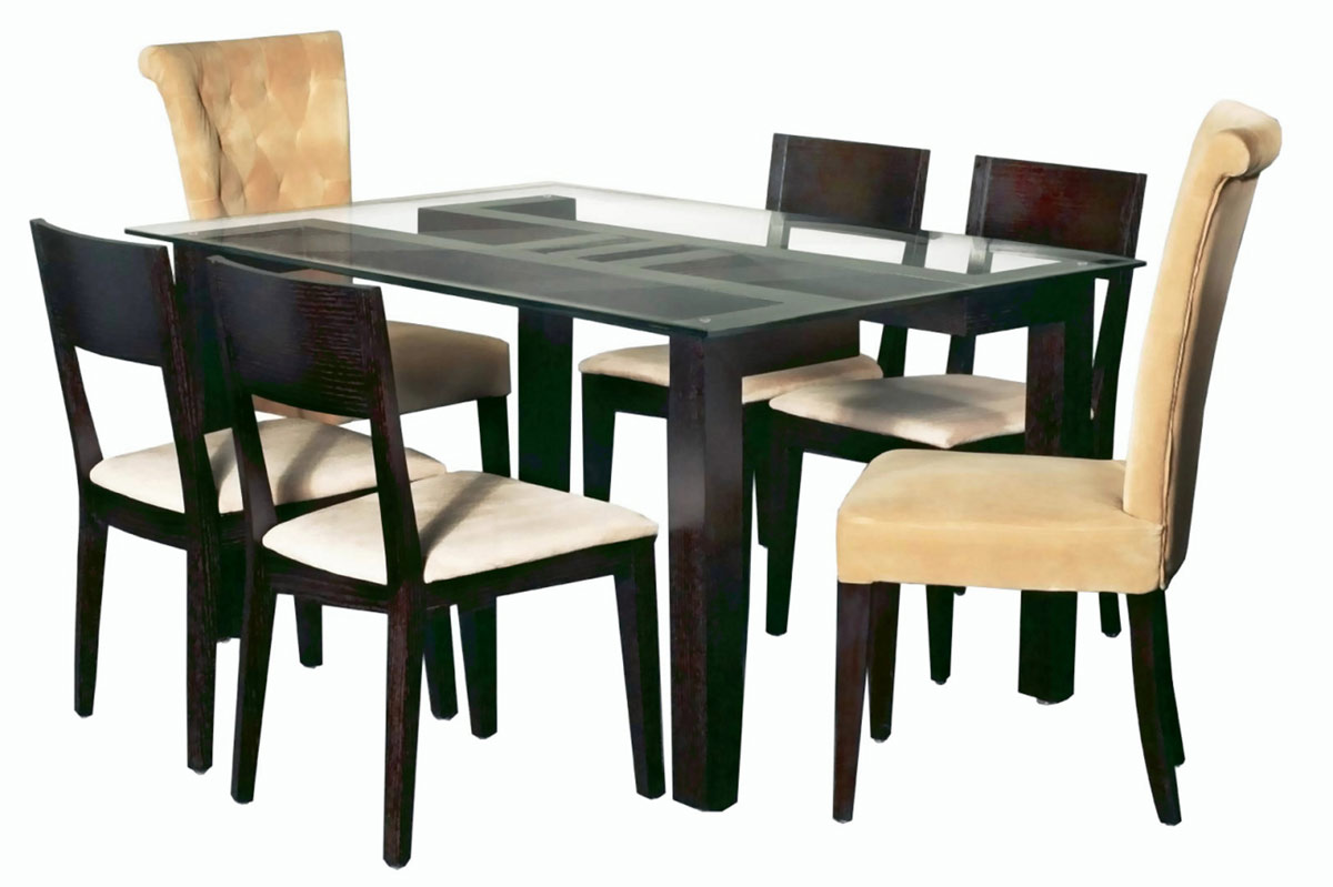 Chintaly Imports Leslie Rectangular Dining Collection