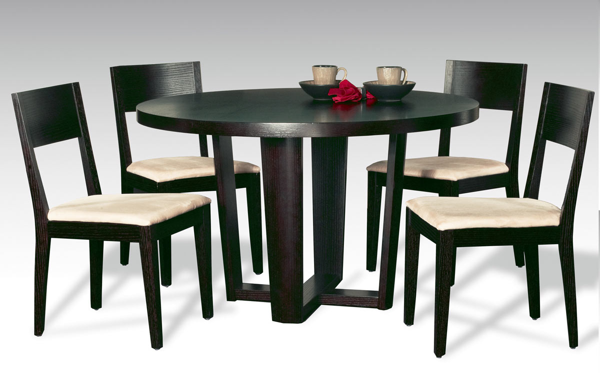Chintaly Imports Lorie Round Dining Collection