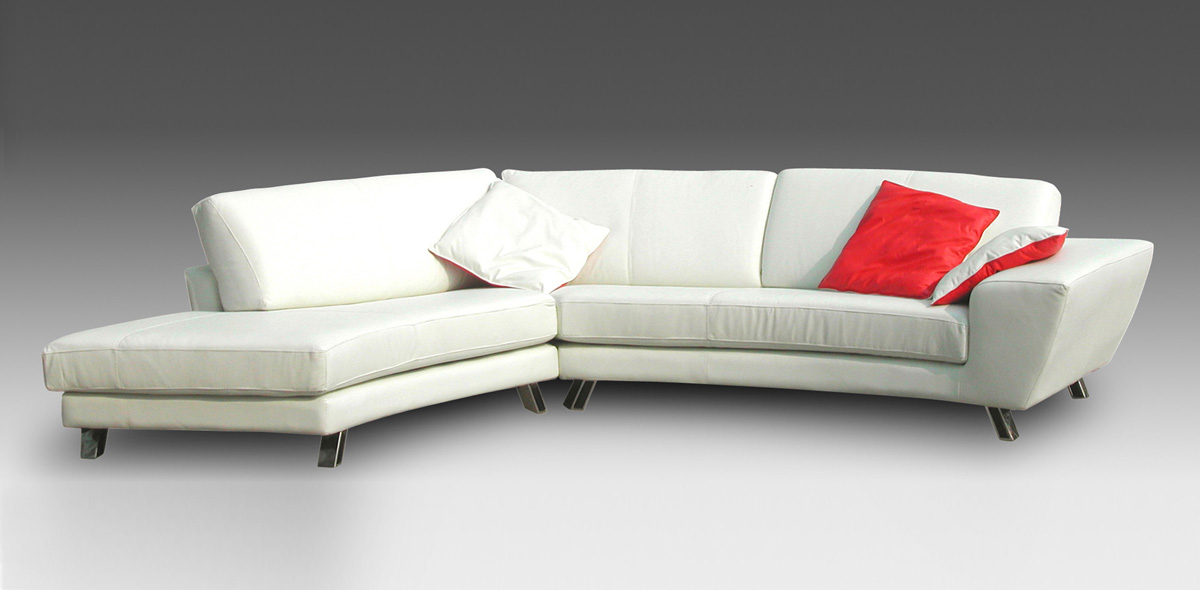 Miami Leather Sofa Sectional - Chintaly Imports