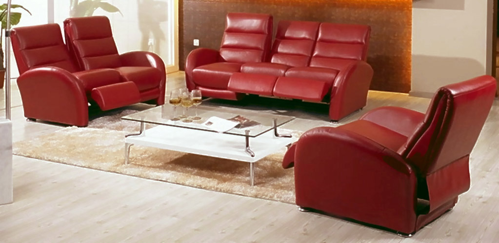 Chintaly Imports San Diego Leather Living Room Collection