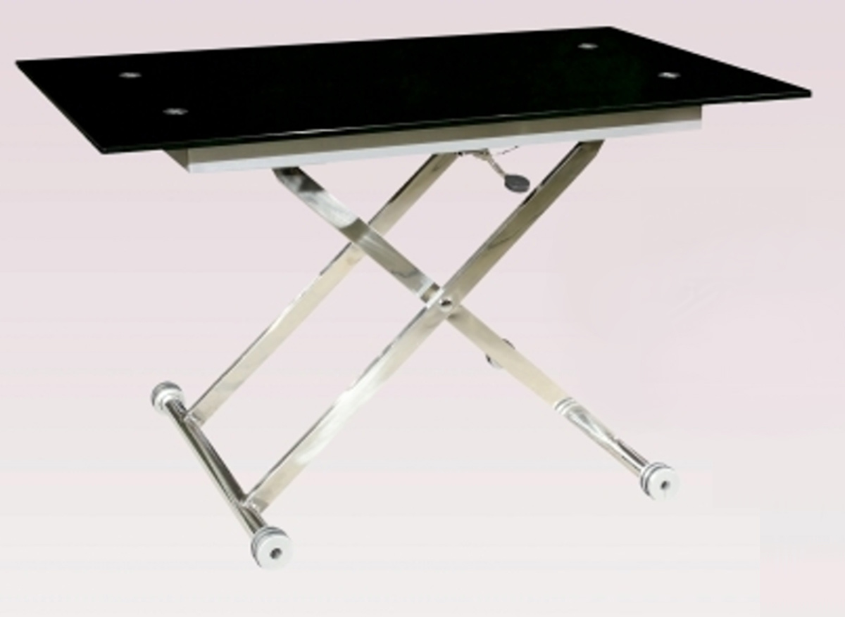 Chintaly Imports Sherry Adjustable Height Cocktail Table CISHERRY - Adjustable height cocktail table
