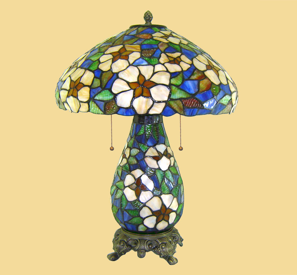 06243 Tiffany Table Lamp - Chintaly Imports