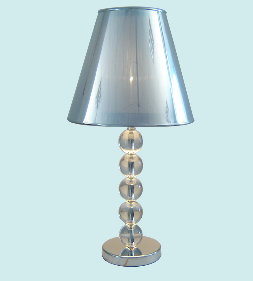 08153 Table Lamp with Crystal Ball - Chintaly Imports