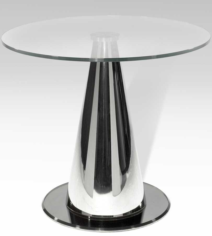 Chintaly Imports Tamara Round Lamp Table