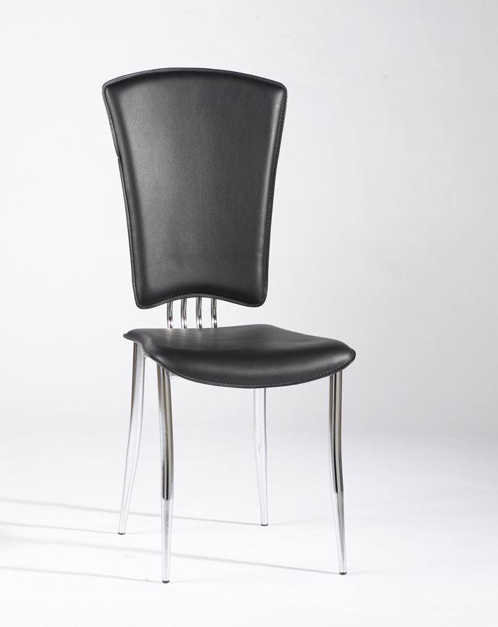 Chintaly Imports Tracy Side Chair - Black
