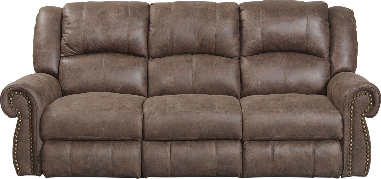 CatNapper Westin Reclining Sofa - Ash