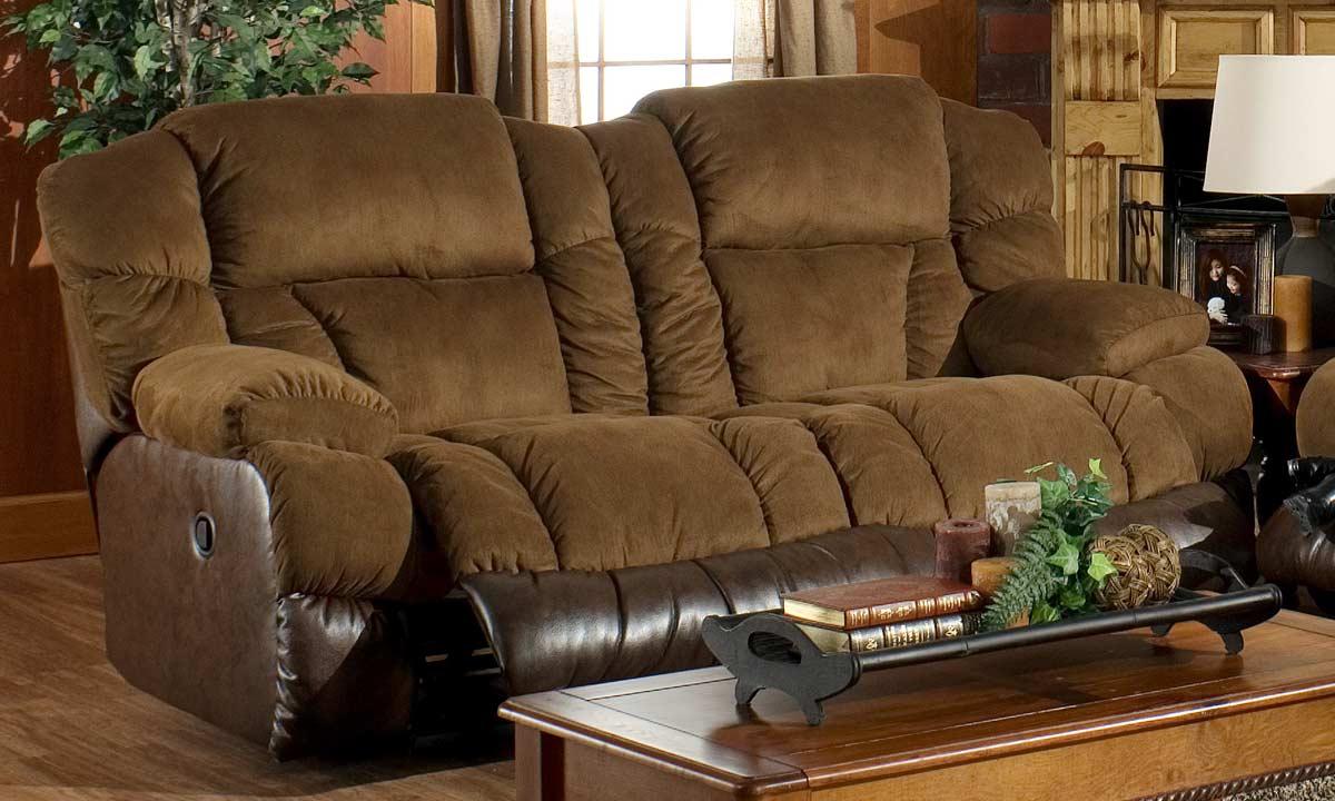 Catnapper Avenger Dual Reclining Sofa Cn 1091 At