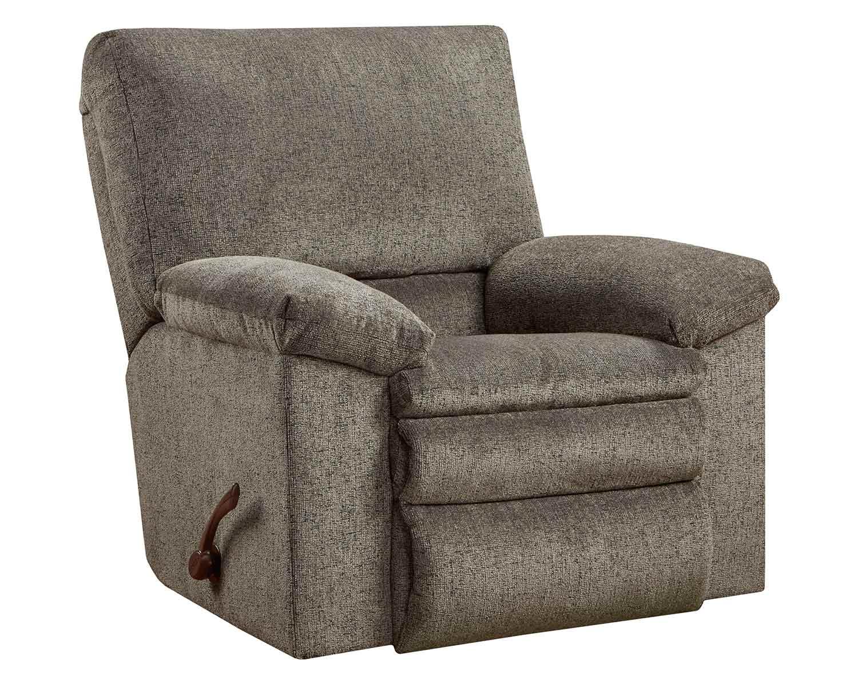 CatNapper Tosh Rocker Recliner Chair - Pewter