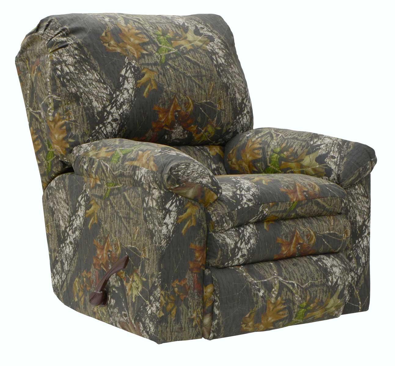 Catnapper Duck Dynasty Trapper Reclining Sofa Set Mossy