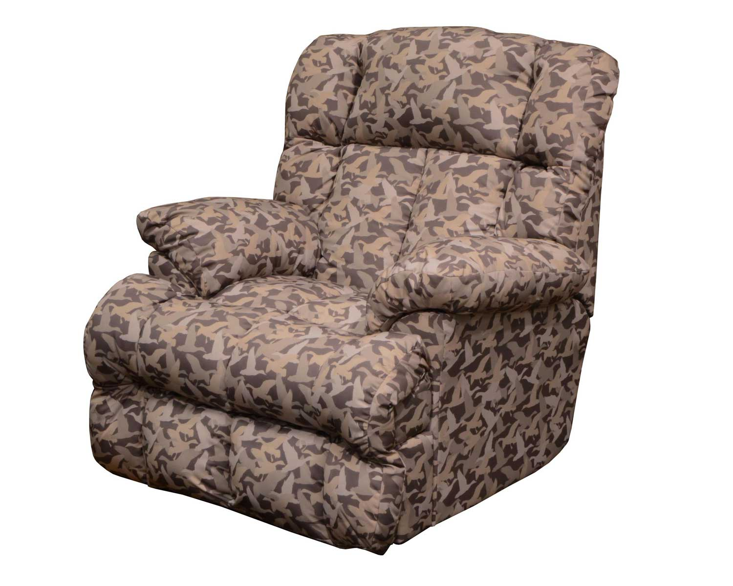 catnapper duck dynasty cedar creek lay flat recliner duck camo - Catnapper Recliner