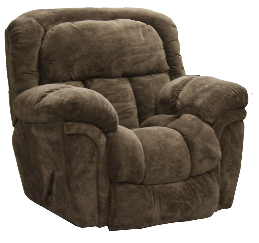 Catnapper tundra chaise glider recliner chocolate 1330 6 for Catnapper reclining chaise