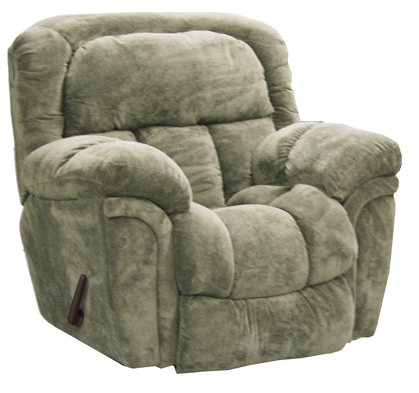 Catnapper tundra chaise glider recliner sage 1330 6 sage for Catnapper recliner chaise
