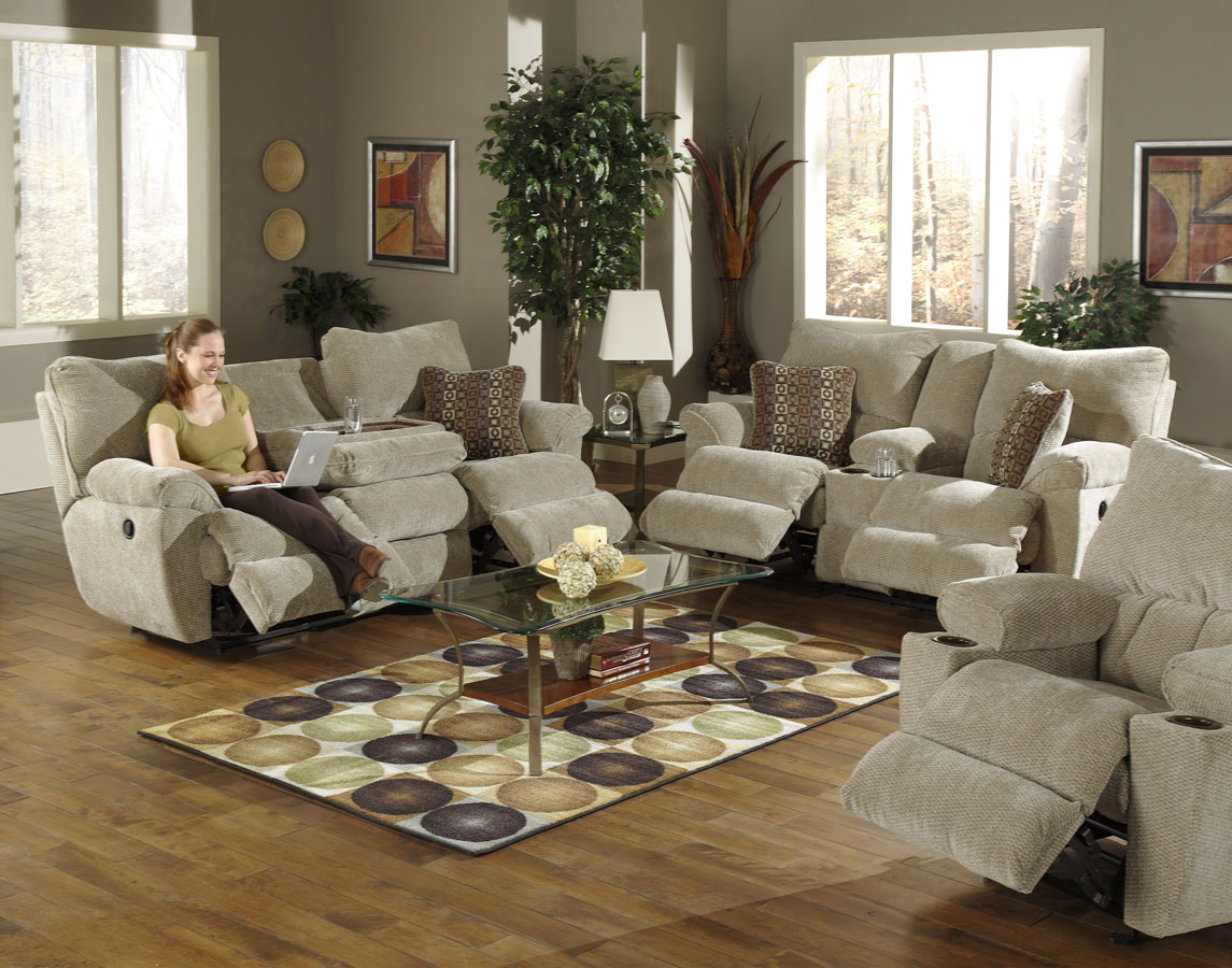 Cheap CatNapper Madison Sofa Set
