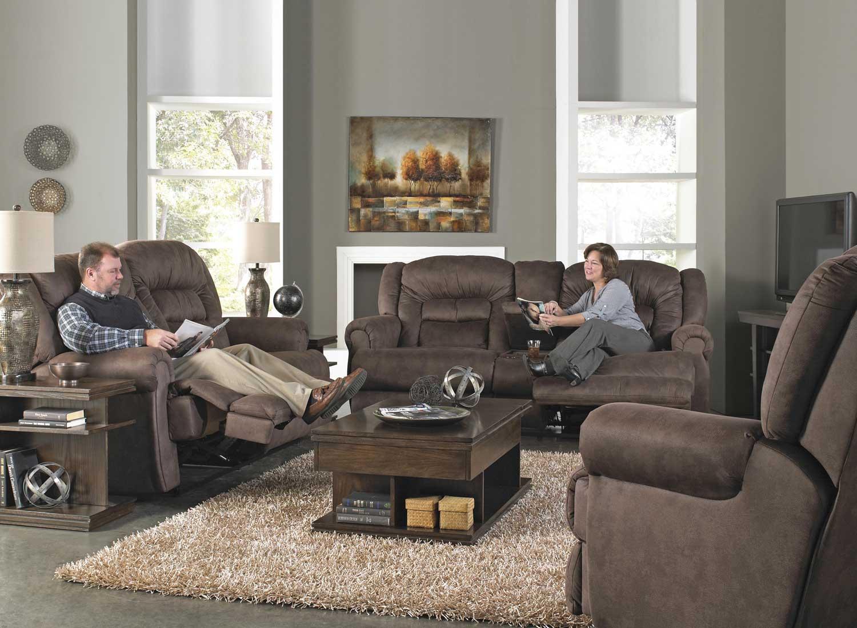 Catnapper Atlas Extra Tall Power Reclining Sofa Set