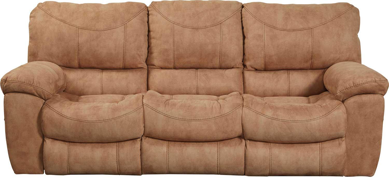 Sensational Catnapper Terrance Reclining Sofa Caramel Beatyapartments Chair Design Images Beatyapartmentscom