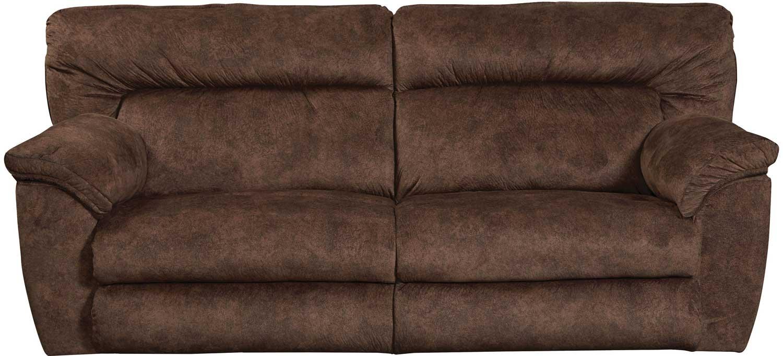CatNapper Nichols Lay Flat Reclining Sofa   Chestnut