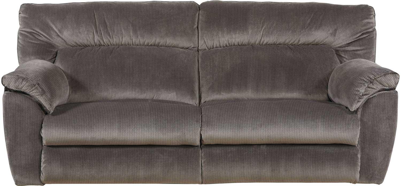 CatNapper Nichols Lay Flat Reclining Sofa - Granite CN-1671-Granite ...