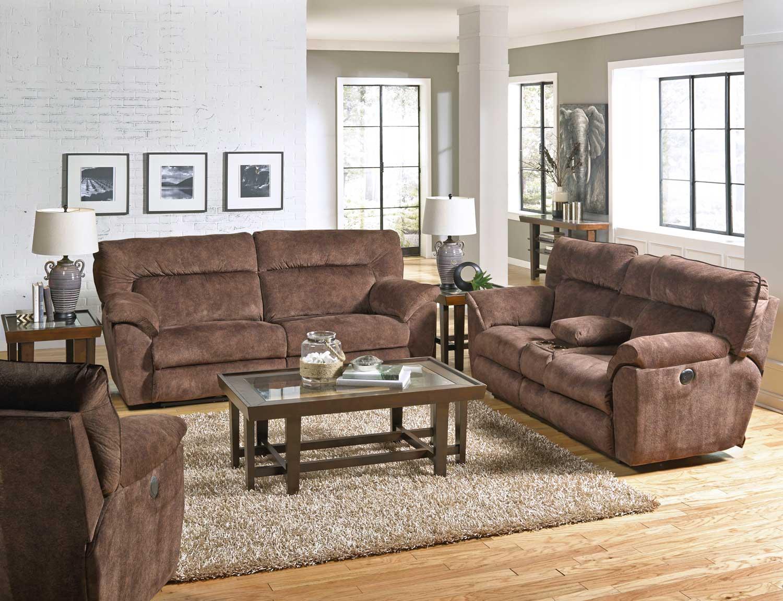 catnapper nichols power reclining sofa set chestnut cn 61671 sofa set chestnut at. Black Bedroom Furniture Sets. Home Design Ideas