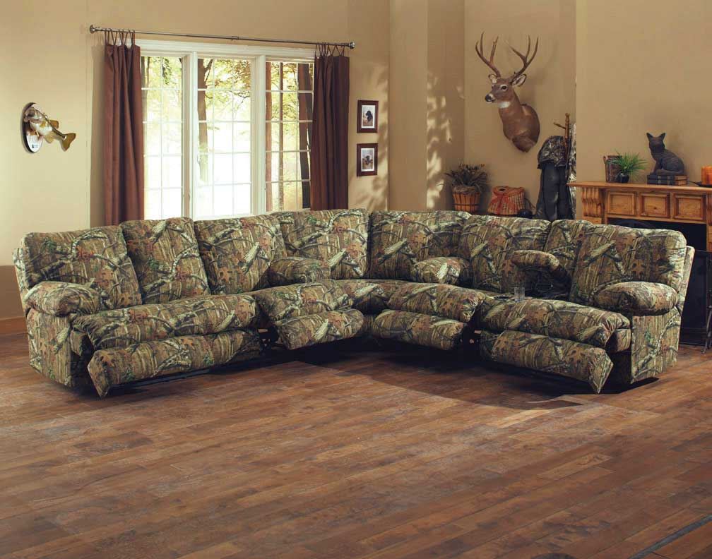 Oak Sofa Set ~ Catnapper wintergreen reclining sectional sofa set mossy