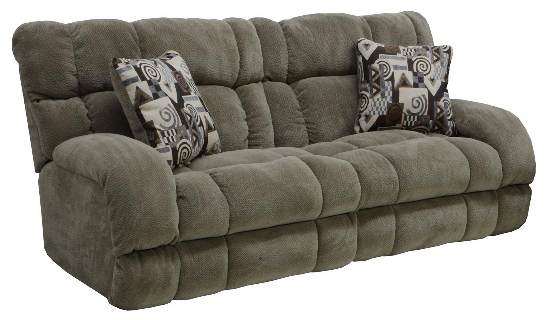 CatNapper Siesta Power Lay Flat Reclining Sofa - Porcini