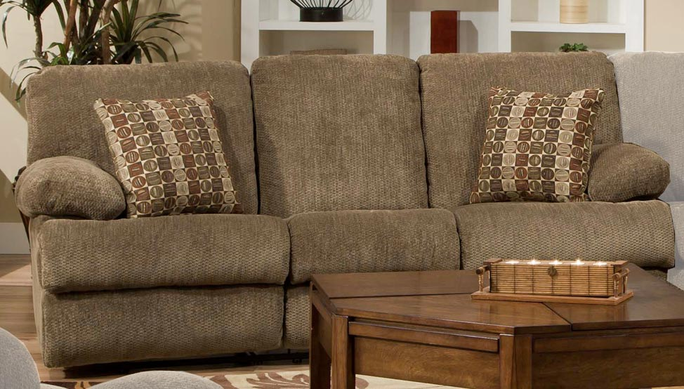 CatNapper Harbor Power Reclining Sofa   Tobacco