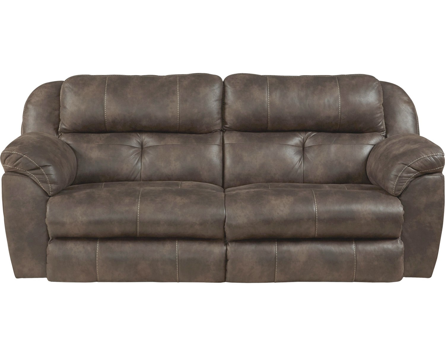 Catnapper Ferrington Power Headrest Power Lay Flat Reclining Sofa Dusk Cn 61891 Dusk At