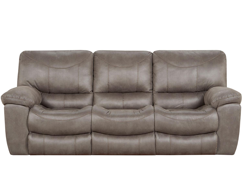 Catnapper Trent Reclining Sofa Set Charcoal Cn 1921