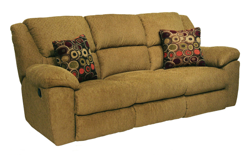 catnapper transformer ultimate sofa with 3 recliners1 drop down table beige - Catnapper Recliners