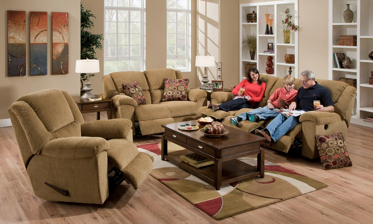 catnapper transformer sofa set beige
