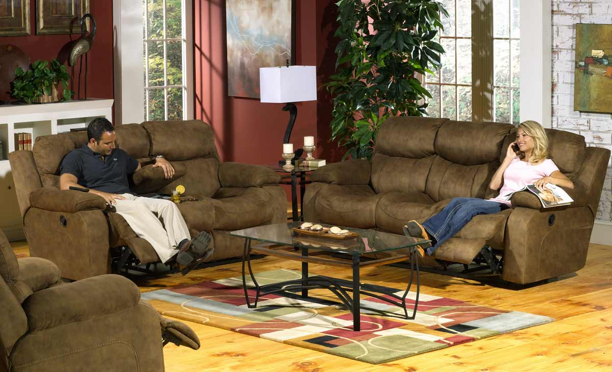 Frisco Reclining Sofa - Peat - Catnapper