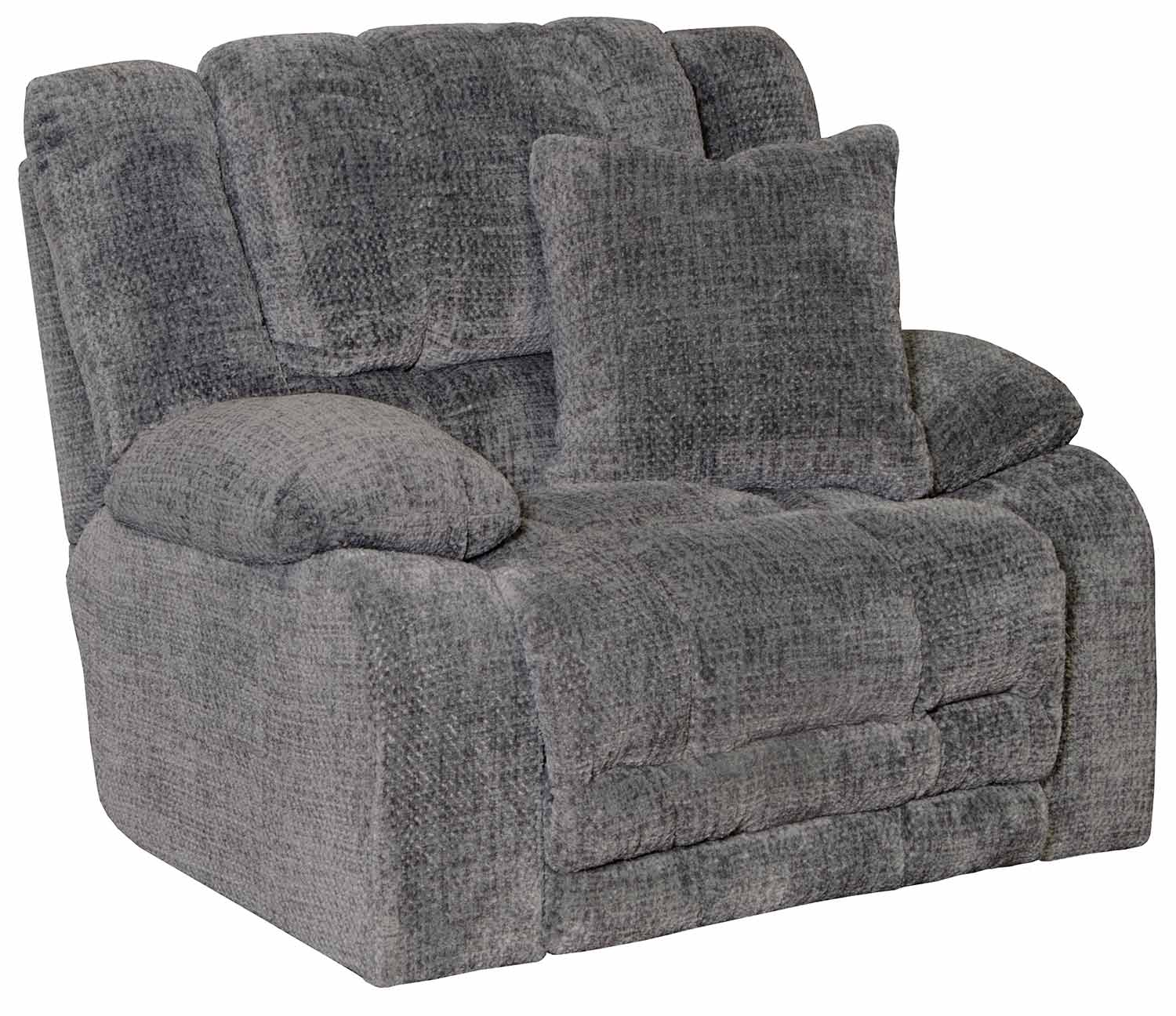 CatNapper Branson Recliner Chair - Pewter