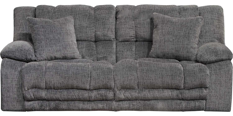 CatNapper Branson Reclining Sofa - Pewter