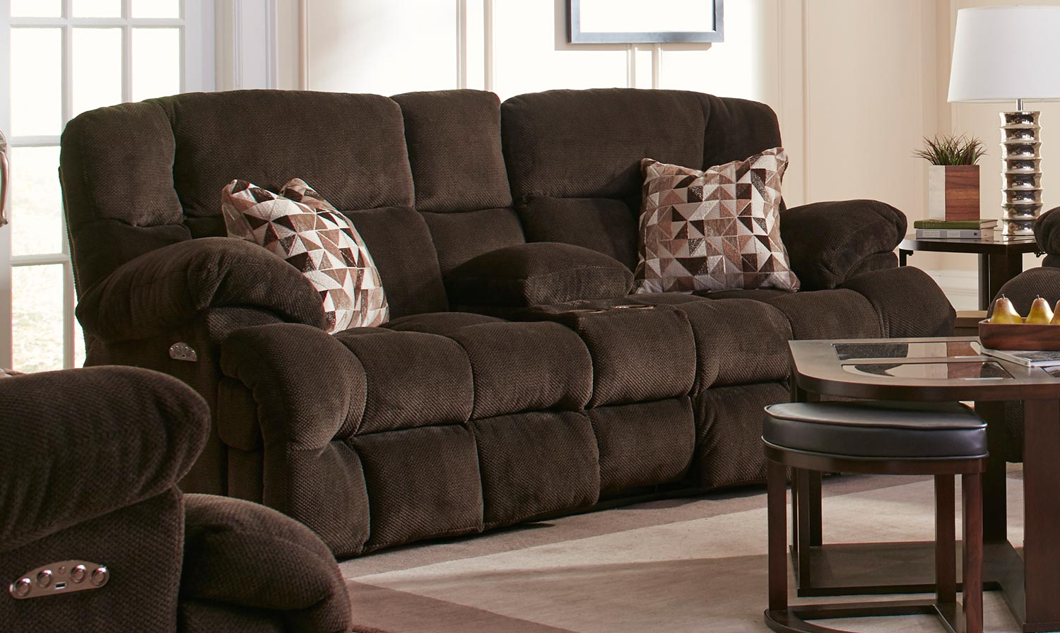 ip godiva sofa com reclining catnapper impulse walmart loveseat set